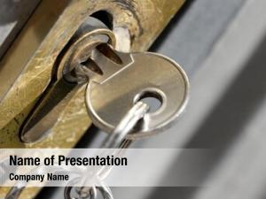 Lock closeup key
