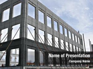 Under commercial building construction