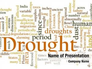 Concept word cloud drought rainfall