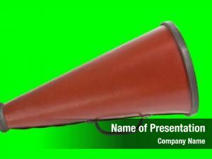 Chroma vintage megaphone key green