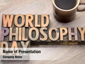 World philosophy powerpoint background