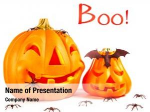 Decoration, traditional halloween scary pumpkin