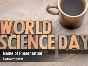 World science powerpoint background