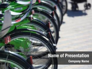 Bicycle parking rental