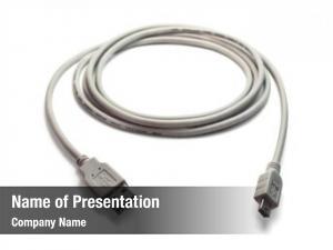 Mini grey usb usb cable