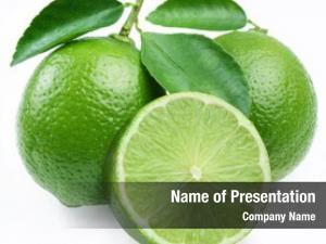 Fruit lime citrus slice lime