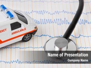 Car stethoscope ambulance ecg medical