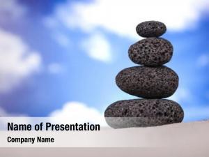 Stones balanced zen
