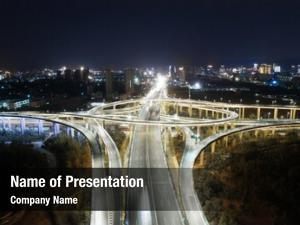 System highway transportation highway interchange