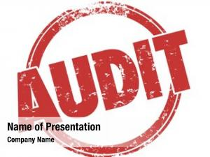 Audit review powerpoint template