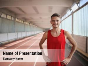 Training runner during runner track