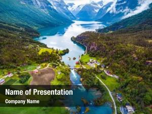 Northern norway beautiful nature