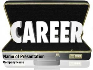 Briefcase career word job opportunity