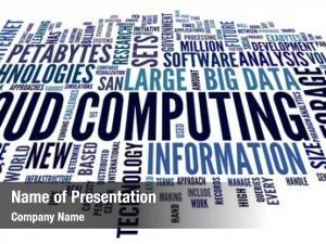 Concept cloud computing word tag