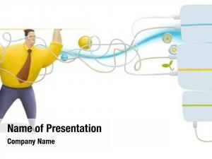 Elements illustrated blocks business technology