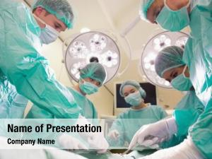 Practicing medical students surgery model
