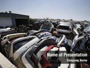 Broken damaged vehicles car parts