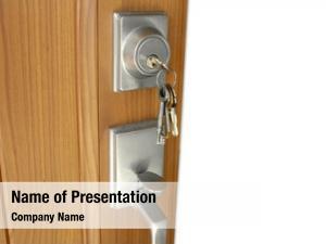 Open keys lock door
