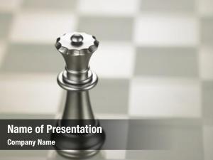 Queen chess piece glass chess