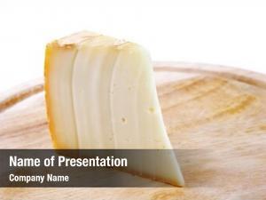 Swiss piece light cheese wooden
