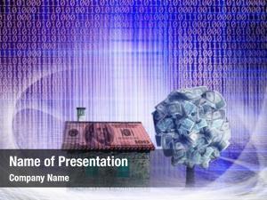 House conceptual money money tree