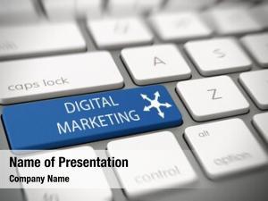 Online digital market advertising concept