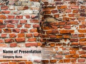 Wall ancient brick texture