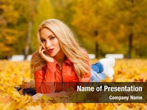 Hair beautiful blond woman lies