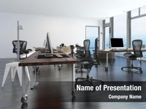 Office contemporary minimalist interior workstations