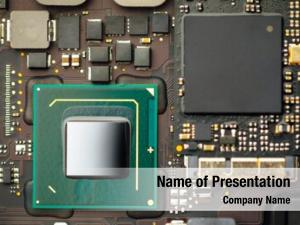 Cpu processor powerpoint theme