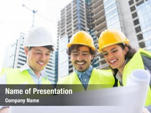 Architects and civil powerpoint template