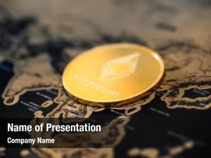 Concept digital currency crypto currency