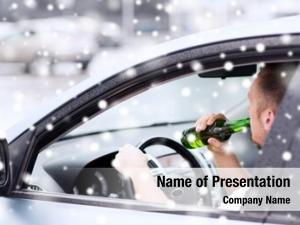 Vehicle transportation, alcohol, people concept
