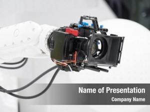 Broadcasting robotic camera television