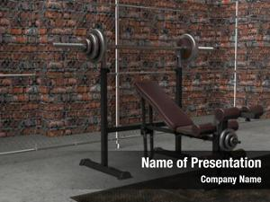 Iron render cast dumbbell weights