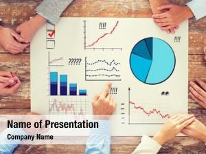 Statistics business, people, team work