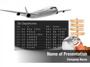 Departures travel mechanical board airline