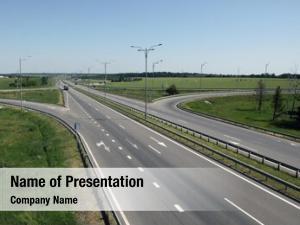 Asphaltic image lanes motorway