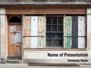 Townhouse georgian domestic facade grunge