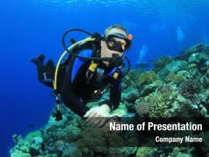 Diver on Scuba