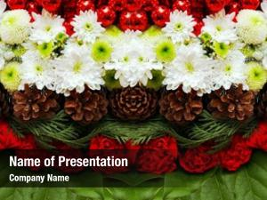 Arrangement christmas holiday floral