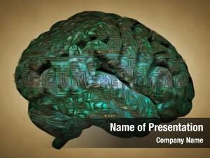 Circuit human brain board pattern