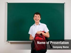 Boy portrait school looking school