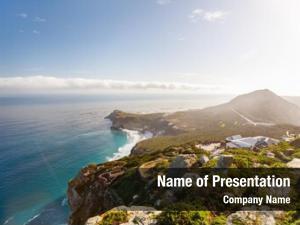 Cape of good hope landscape of beautiful cape