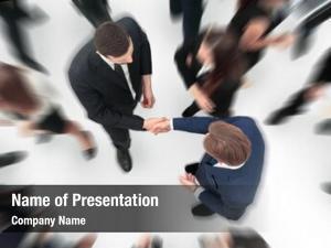 Entrepreneurs business handshake