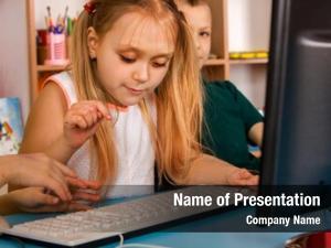 Class children computer education video