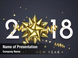 Year 2018 new golden