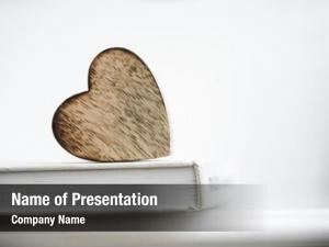 Shape wooden heart