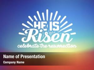 Risen celebrate powerpoint background