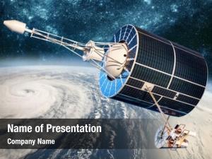 Monitoring space satellite earth orbit